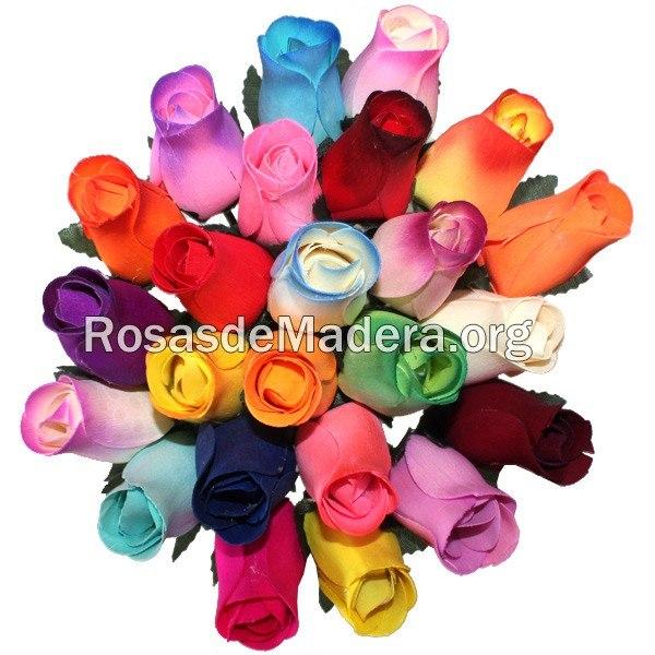 Significado De Los Colores En Las Rosas Ramos Y Flores Madera