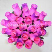 Rosa rosa y morada