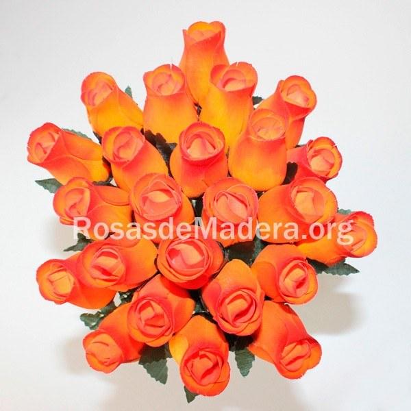 Flores anaranjada