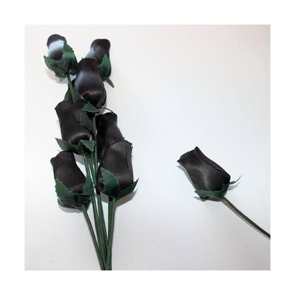 Rosas de madera negras