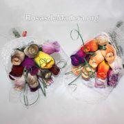Ramitos de flores de colores