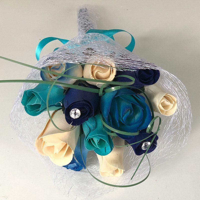 Ramito azul invitados boda