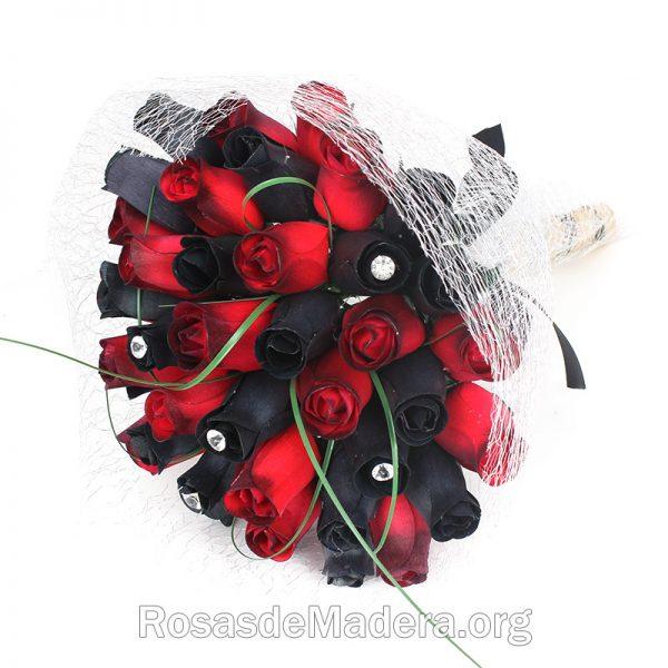 Ramo de rosas gótico