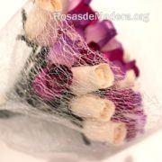 Detalle ramo flores