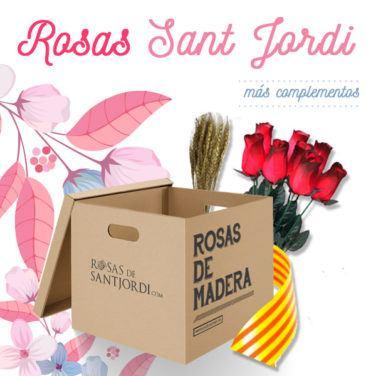 Rosas Sant Jordi complementos