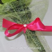 Detalle rosas de madera Salamanca