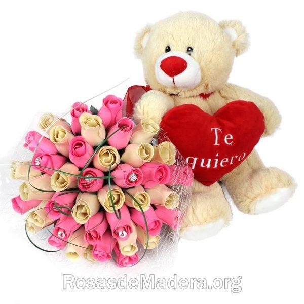 regalo-perfecto-oso-ramo-rosas