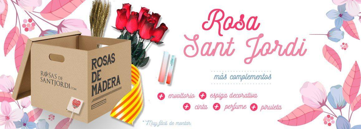 Rosas Sant Jordi 2018